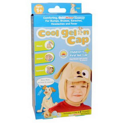 Cool Gel'n Cap, Toby, Children's First Aid Cap, 1 Cap