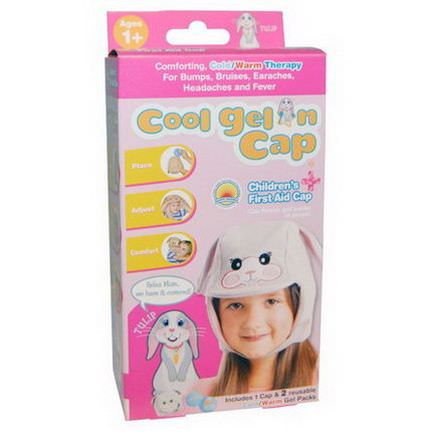 Cool Gel'n Cap, Tulip, Children's First Aid Cap, 1 Cap