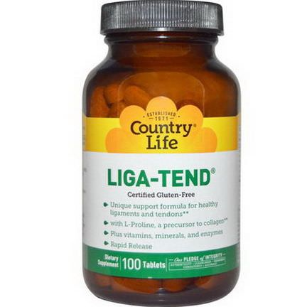 Country Life, Liga-Tend, 100 Tablets