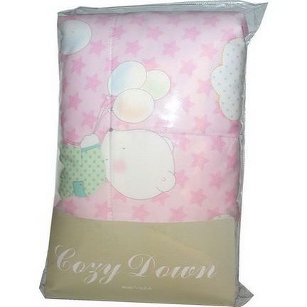 Cozy Down, Baby Mais Corn-based Comforter, Pink, 36