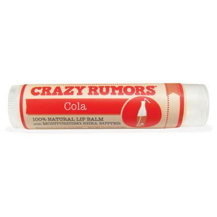Crazy Rumors, 100% Natural Lip Balm, Cola 4.4ml
