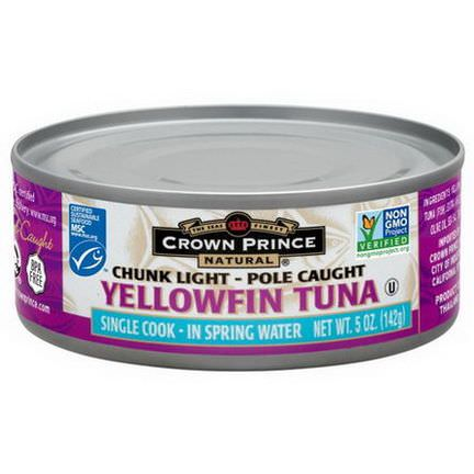 Crown Prince Natural, Yellowfin Tuna in Spring Water 142g