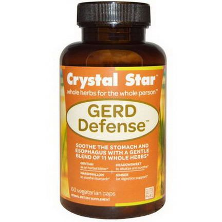 Crystal Star, GERD Defense, 60 Veggie Caps