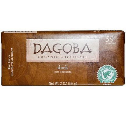 Dagoba Organic Chocolate, Dark Chocolate 56g