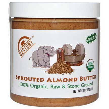 Dastony, 100% Organic Sprouted Almond Butter 227g
