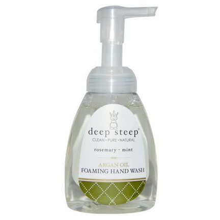 Deep Steep, Argan Oil Foaming Hand Wash, Rosemary - Mint 237ml