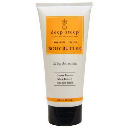Deep Steep, Body Butter, Tangerine - Melon 177ml