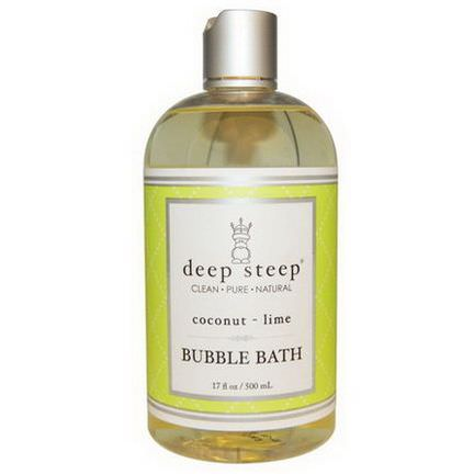 Deep Steep, Bubble Bath, Coconut Lime 500ml