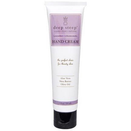 Deep Steep, Hand Cream, Lavender - Chamomile 59ml