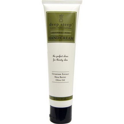 Deep Steep, Hand Cream, Rosemary Mint 59ml