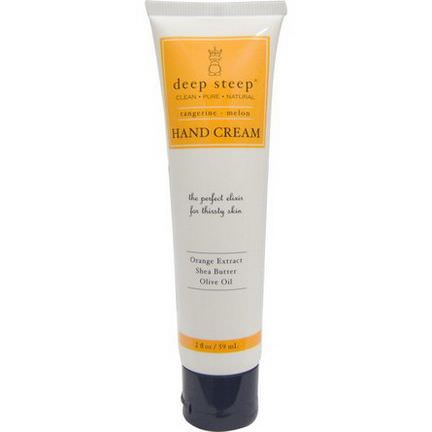 Deep Steep, Hand Cream, Tangerine - Melon 59ml
