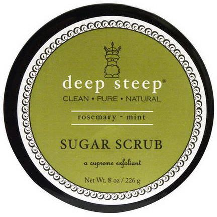 Deep Steep, Sugar Scrub, Rosemary - Mint 226g