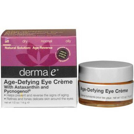 Derma E, Age-Defying Eye Cream 14g