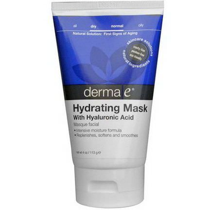 Derma E, Hydrating Mask With Hyaluronic Acid 113g