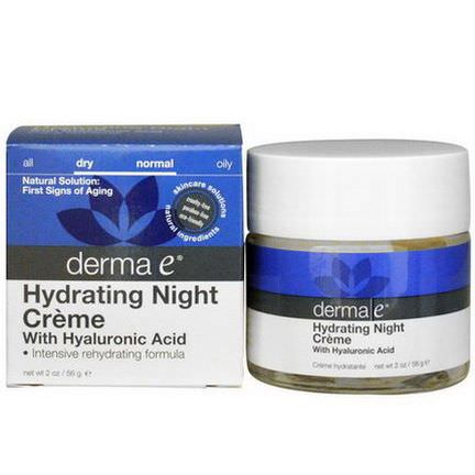 Derma E, Hydrating Night Creme 56g