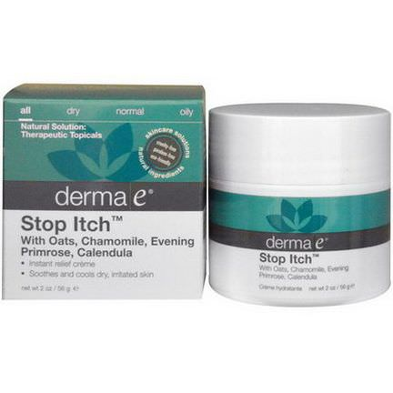 Derma E, Stop Itch 56g