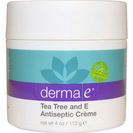Derma E, Tea Tree and E Antiseptic Creme 113g