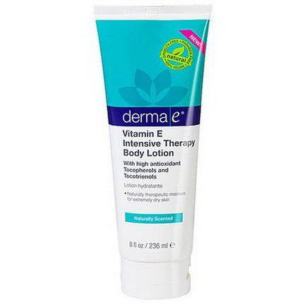 Derma E, Vitamin E Intensive Therapy Body Lotion, Naturally Scented 236ml