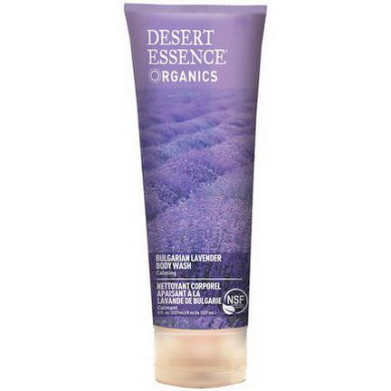 Desert Essence, Bulgarian Lavender Body Wash, Calming 237ml