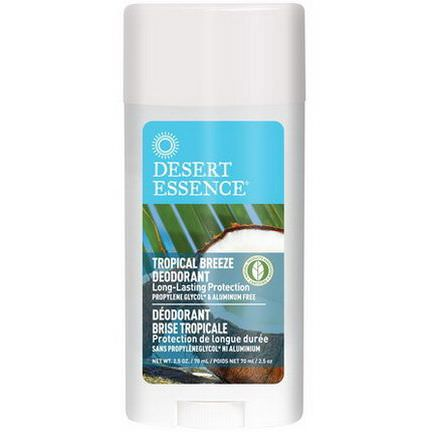 Desert Essence, Deodorant, Tropical Breeze 70ml