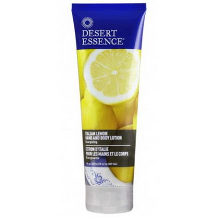 Desert Essence, Hand and Body Lotion, Italian Lemon 237ml
