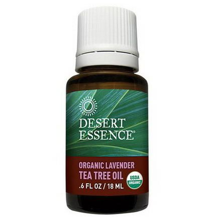 Desert Essence, Organic Lavender Tea Tree Oil 18ml