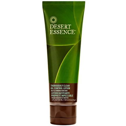 Desert Essence, Thoroughly Clean Oil Control Lotion, Oily&Combination Skin 120ml