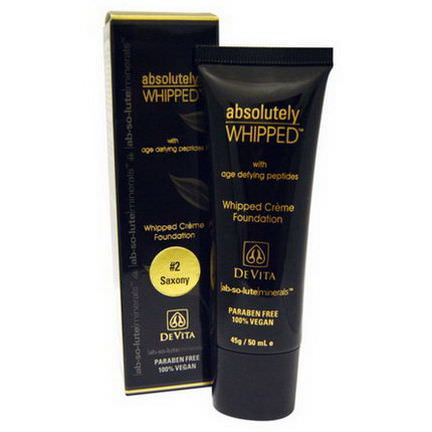 Devita, Absolute Minerals, Absolutely Whipped Cream Foundation, Saxony #2 50ml
