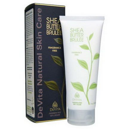 Devita, Shea Butter Brulee, Fragrance Free 210ml