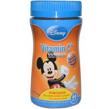 Disney, Mickey Vitamin C+ Gummies, 60 Pieces