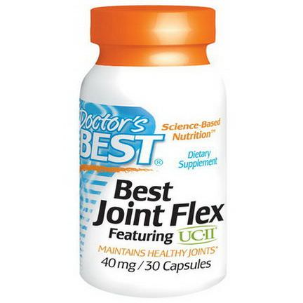 Doctor's Best, Best Joint Flex, Featuring UC-ll, 40mg, 30 Capsules