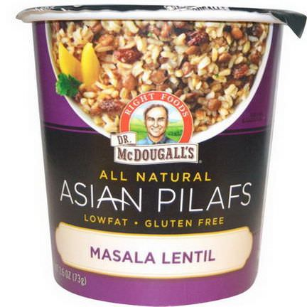 Dr. McDougall's, Right Foods, Asian Pilafs, Masala Lentil 73g