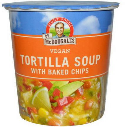 Dr. McDougall's, Tortilla Soup, with Baked Chips 56g