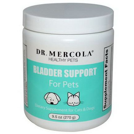 Dr. Mercola, Healthy Pets, Bladder Support For Pets 270g