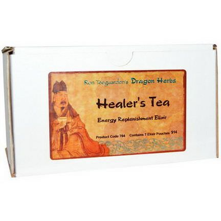 Dragon Herbs, Healer's Tea, Energy Replenishment Elixir, 7 Pouches
