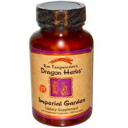 Dragon Herbs, Imperial Garden, 500mg, 100 Veggie Caps