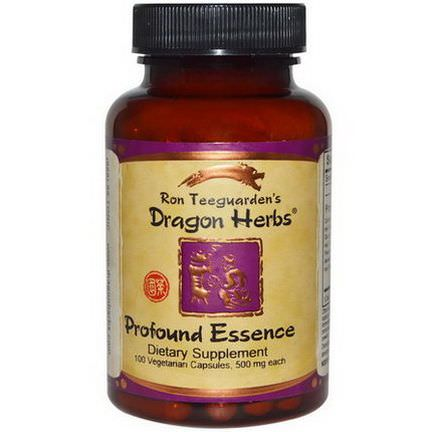 Dragon Herbs, Profound Essence, 500mg, 100 Veggie Caps