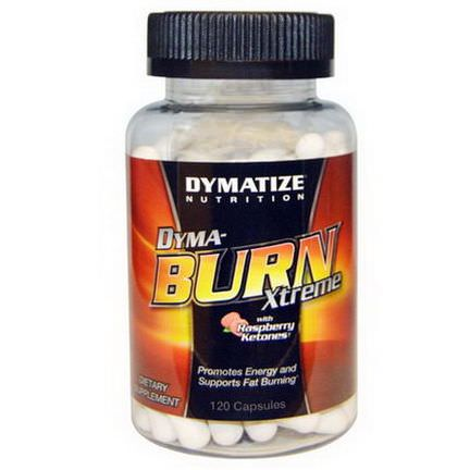 Dymatize Nutrition, Dyma-Burn Xtreme, with Raspberry Ketones, 120 Capsules