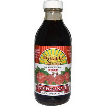 Dynamic Health Laboratories, Juice Concentrate, Pomegranate 237ml