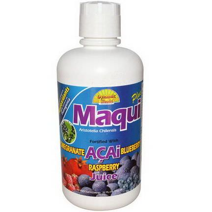 Dynamic Health Laboratories, Maqui Plus Juice Blend 946ml