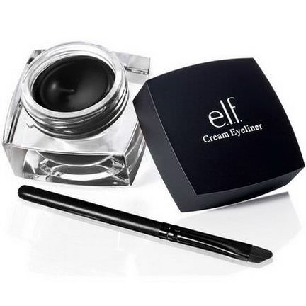 E.L.F. Cosmetics, Cream Eyeliner, Black 4.7g