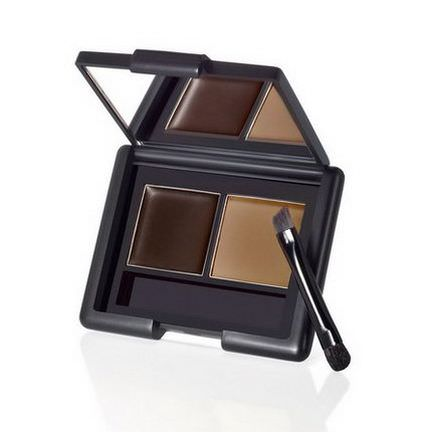 E.L.F. Cosmetics, Eyebrow Kit, Gel/Powder, Dark 3.5g