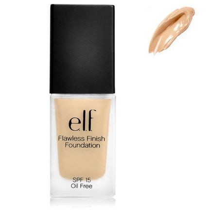 E.L.F. Cosmetics, Flawless Finish Foundation, SPF 15, Oil Free, Sand 23g