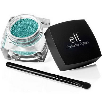 E.L.F. Cosmetics, Pigment Eyeshadow, Tropical Teal 1.5g