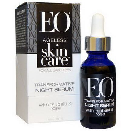 EO Products, Ageless Skin Care, Transformative Night Serum 30ml