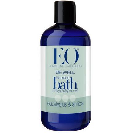 EO Products, Be Well, Bubble Bath, Eucalyptus&Arnica 355ml