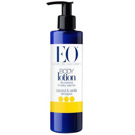 EO Products, Body Lotion, Coconut&Vanilla with Tangerine 236ml