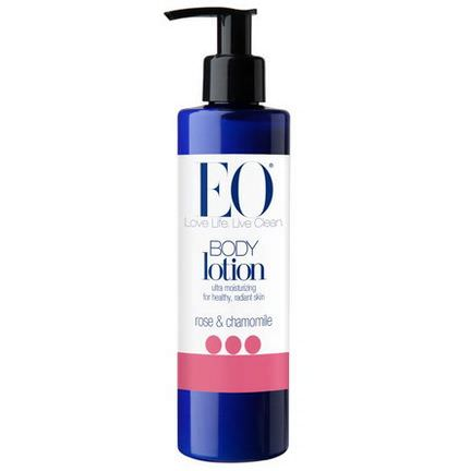 EO Products, Body Lotion, Rose&Chamomile 236ml