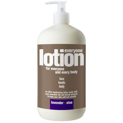 EO Products, Everyone Lotion for Everyone and Every Body, Lavender Aloe 960ml