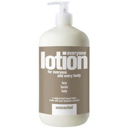 EO Products, Everyone Lotion for Everyone and Everybody, Unscented 960ml